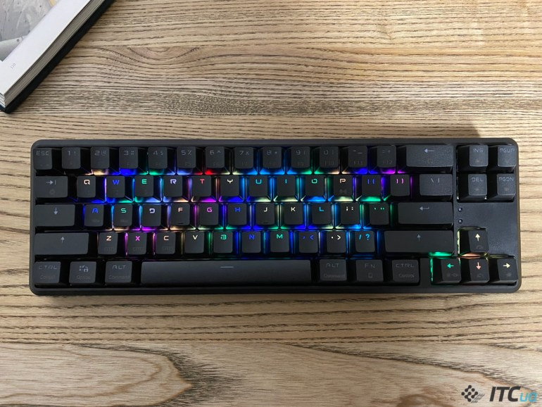 Hator Skyfall Hex - обзор беспроводной механической клавиатуры