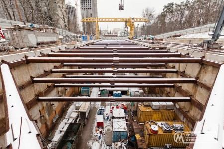 Київський метрополітен: Будівництво метро на Виноградар триває, інформація про зупинку процесу недостовірна