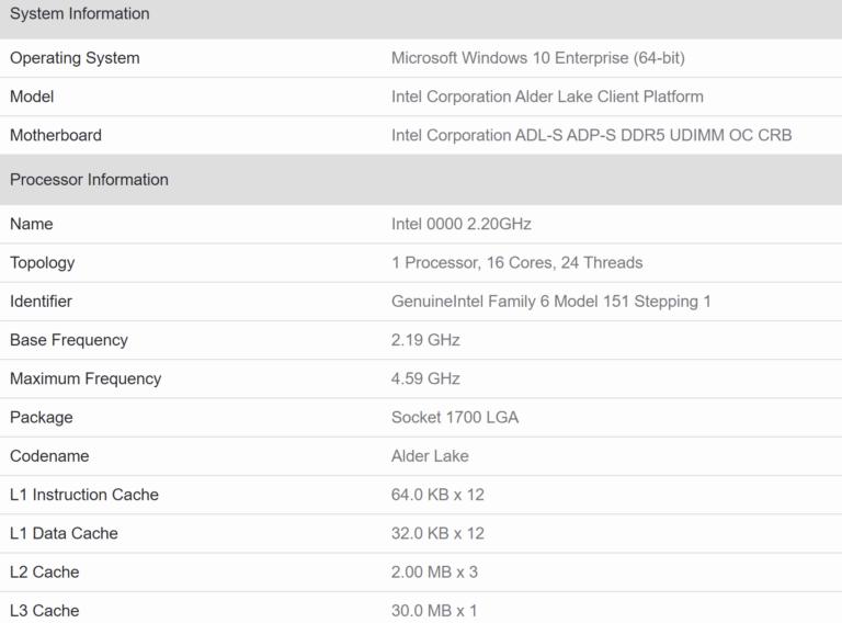 В Geekbench засветился флагманский дискретный GPU Intel DG2 (Xe-HPG) с 512 исполнительными блоками – результат теста не впечатляет