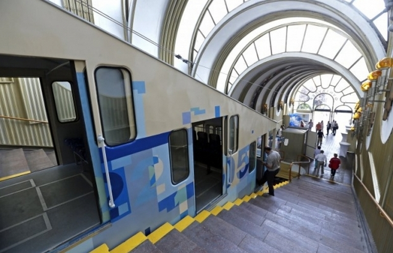 Київський фунікулер отримає нові вагони вперше з 1984 року, на їх закупку планують витратити 6,5 млн евро