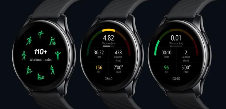 OnePlus представила свои первые умные часы OnePlus Watch с двухнедельной автономностью и ценником $159