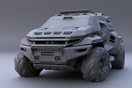 Розробники гусеничного гібридного броньовика Storm також мають в портфоліо цікаві колесні моделі Phantom та Buggy Hunter
