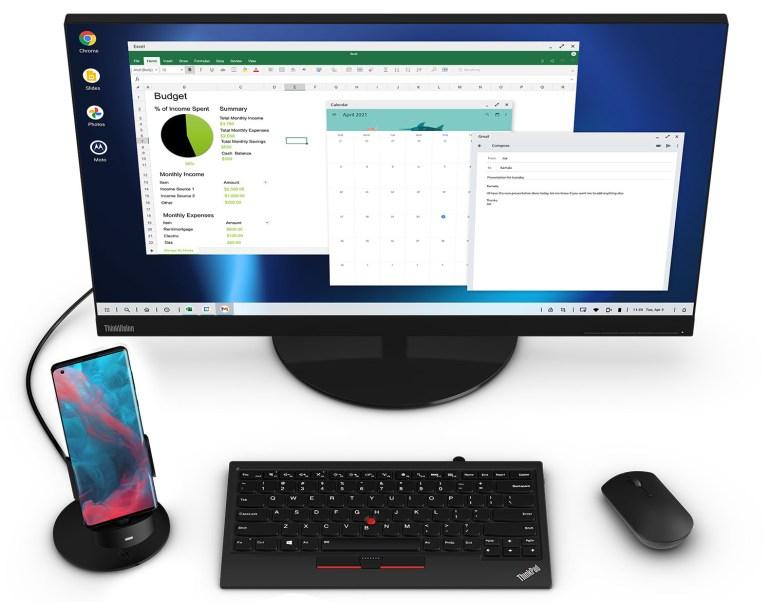 Интерфейс Motorola Ready For трансформирует смартфон Edge Plus в качестве ПК, игровой консоли, телеприставки или станции конференцсвязи