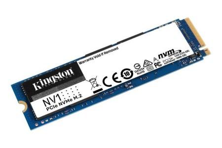 Kingston выпустила линейку недорогих NVMe-накопителей NV1 — от 1 999 грн за 500 ГБ до 6 999 грн за 2 ТБ