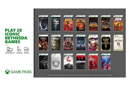 20 популярных игр Bethesda пополнят библиотеку Xbox Game Pass 12 марта