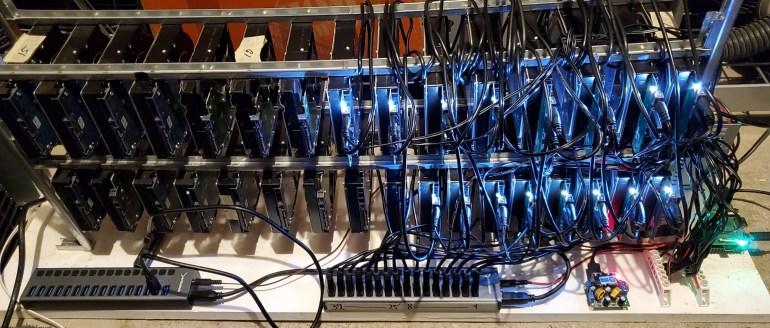 Ёмкость сети криптовалюты Chia Coin за месяц выросла почти в 10 раз превысила 1 эксабайт