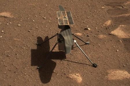 Обновлено: Первый полет «Индженьюити» на Марсе прошел успешно