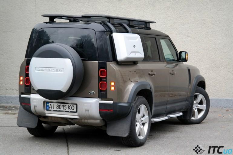 Тест-драйв Land Rover Defender: легенда нашего времени