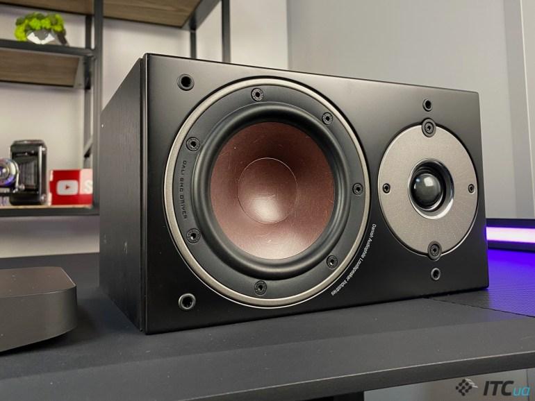 DALI Oberon 1 C - обзор беспроводных акустических колонок