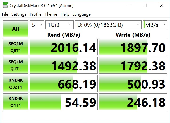 Обзор SSD-накопителя Kingston NV1 2 ТБ: доступные терабайты в формате M.2 NVMe