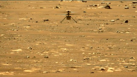 «Индженьюити» совершил второй полет на Марсе — более продолжительный с подъемом на 5 метров и рядом маневров