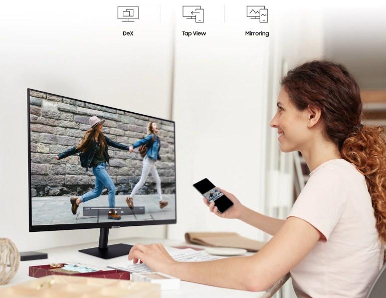 В Україні з'явився монітор Samsung Smart Monitor, який поєднує в собі функції телевізора та ПК — від 8 499 гривень
