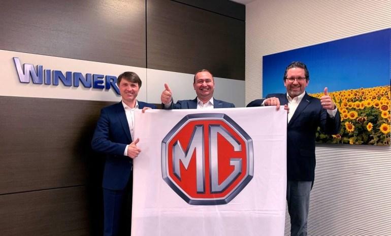 MG офіційно виходить на ринок України з 5 автомобілями, включаючи два електрокросовери - MG EZS та MG Marvel R