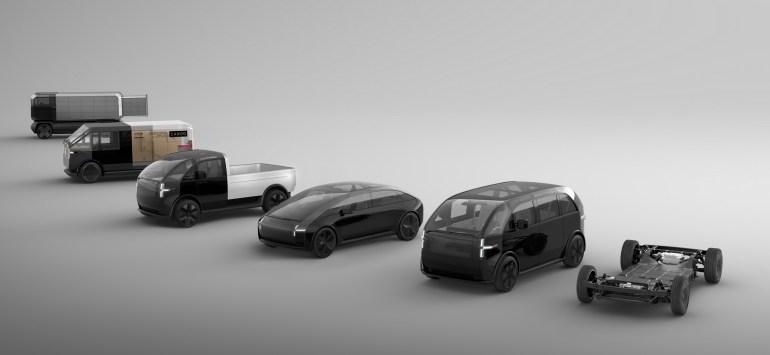 Американский стартап Canoo открыл предзаказы сразу на три электромобиля и объявил стоимость минивэна Lifestyle Vehicle - от $34,750 до $49,950