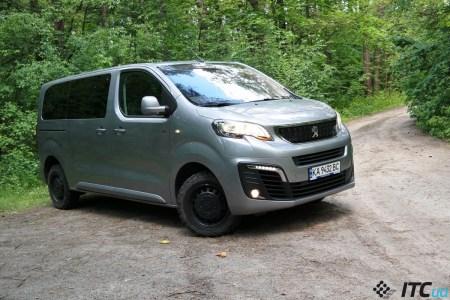 Тест-драйв Peugeot Traveller Dangel 4×4: эксклюзив × практичность