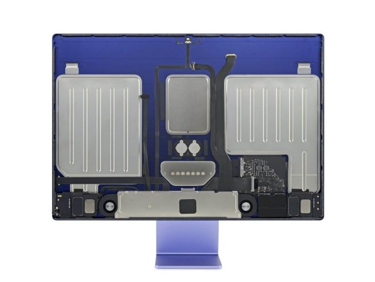 iFixit: Новый Apple iMac с процессором M1 очень проблематично ремонтировать – много клея и распаянных компонентов