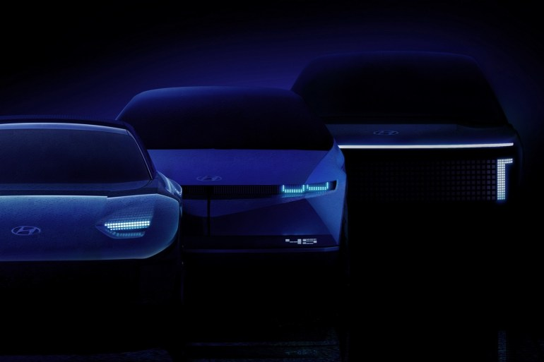 Видео дня: Как могут выглядеть электромобили Hyundai Ioniq 6 и Ioniq 7