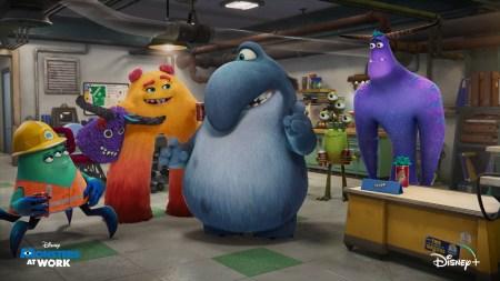 Disney+ представил первый тизер-трейлер анимационного сериала Monsters at Work / «Монстры на работе»