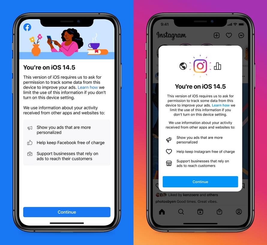 Facebook и Instagram на iOS теперь запрашивают разрешение на сбор личн