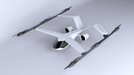 Volocopter представил новое электрическое аэротакси VoloConnect с вертикальным взлетом/посадкой, скоростью 250 км/ч и запасом хода 100 км