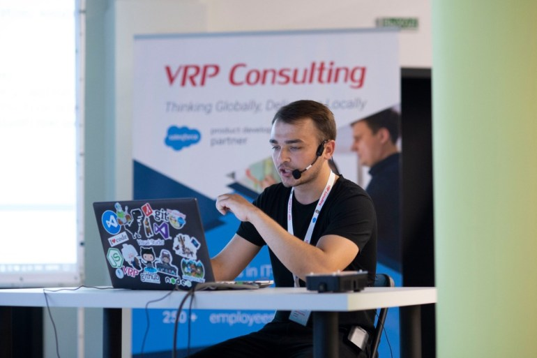 Міжнародна IT-компанія VRP Consulting тепер в Україні!