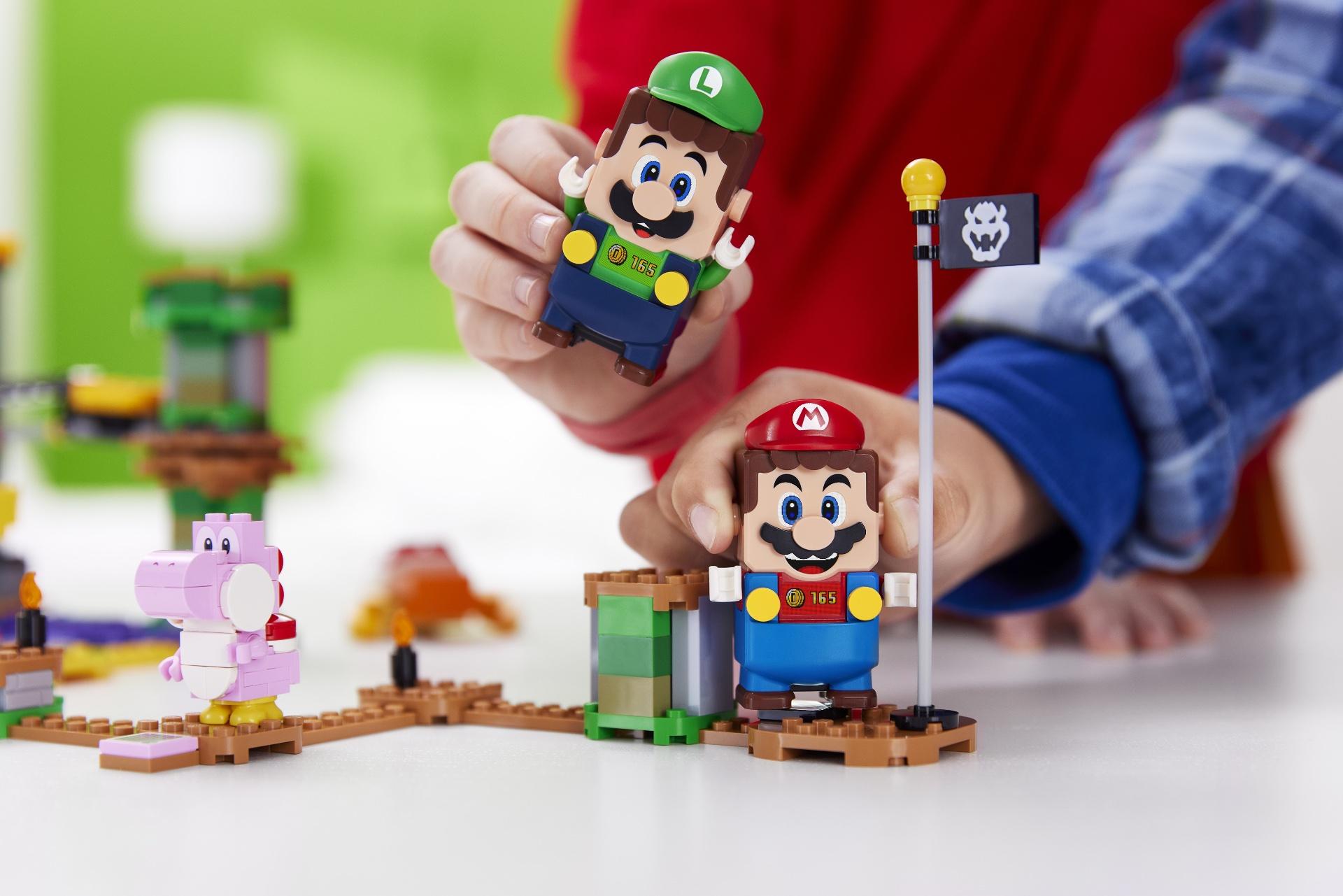 Для LEGO Super Mario появился герой LEGO Luigi и новые наборы - ITC.ua