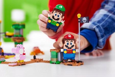 Для LEGO Super Mario появился герой LEGO Luigi и новые наборы