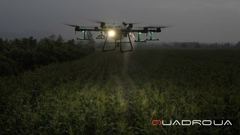 В Україні стартували продажі флагманського агрокоптера DJI Agras T30