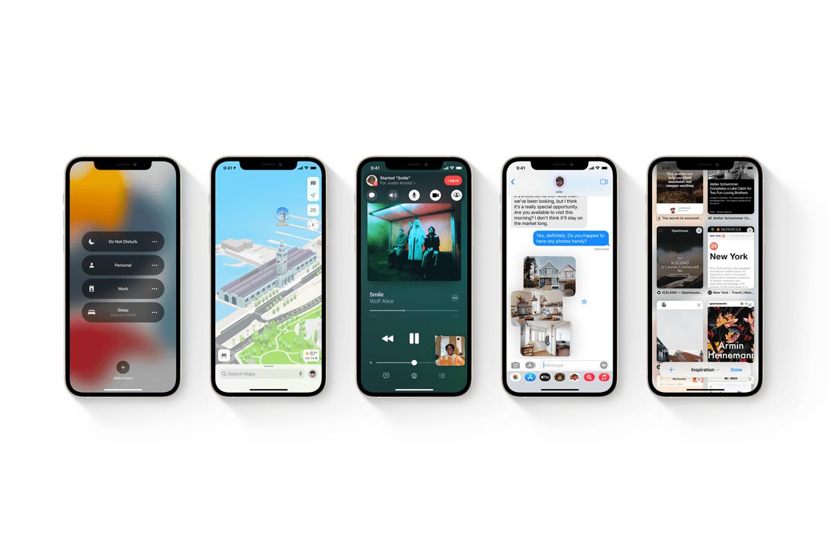 Apple представила iOS 15 — с редизайном уведомлений, набором режимов концентрации Focus и распознаванием текста на фото Live Text - ITC.ua