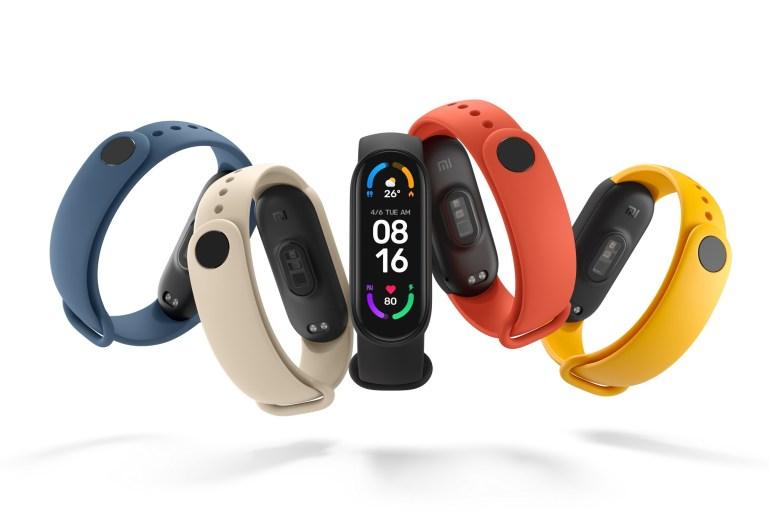 Xiaomi оголоcила одноденний розпродаж фітнес-браслета Mi Smart Band 6 за ціною 1099 грн замість 1499 грн