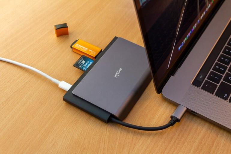 Экспресс-обзор USB-C-дока Moshi Symbus Mini