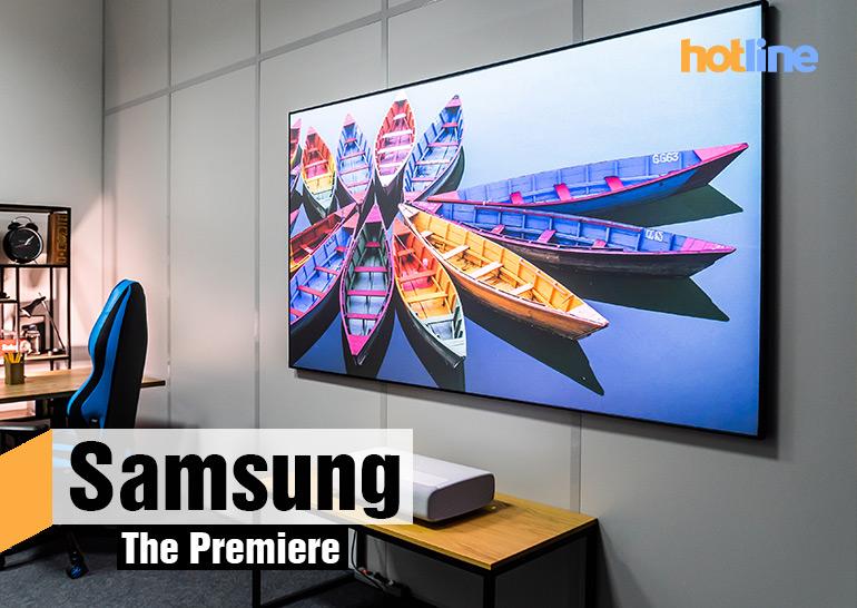 Видеообзор ультракороткофокусного проектора Samsung The Premiere (LSP9T) - ITC.ua