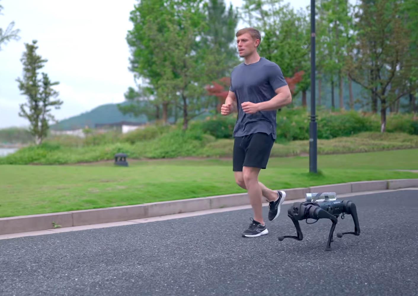 Создан четвероногий робот Unitree Go1 стоимостью от $2700, способный с
