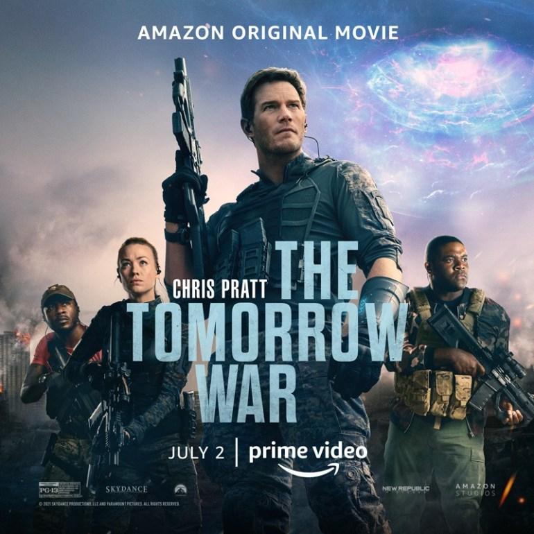 Вышел финальный трейлер фантастического боевика The Tomorrow War / «Война будущего» с Крисом Прэттом в главной роли