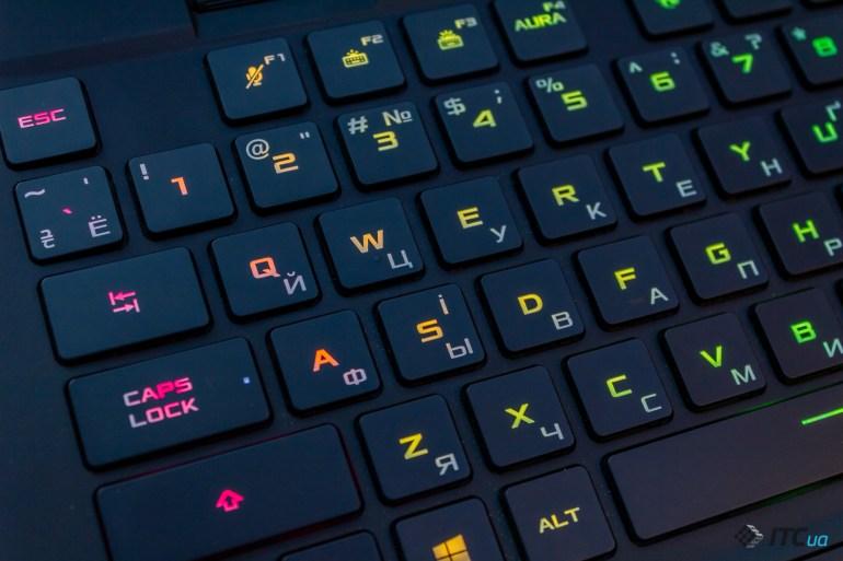 Обзор игрового ноутбука ASUS ROG Zephyrus S17 (GX703H)
