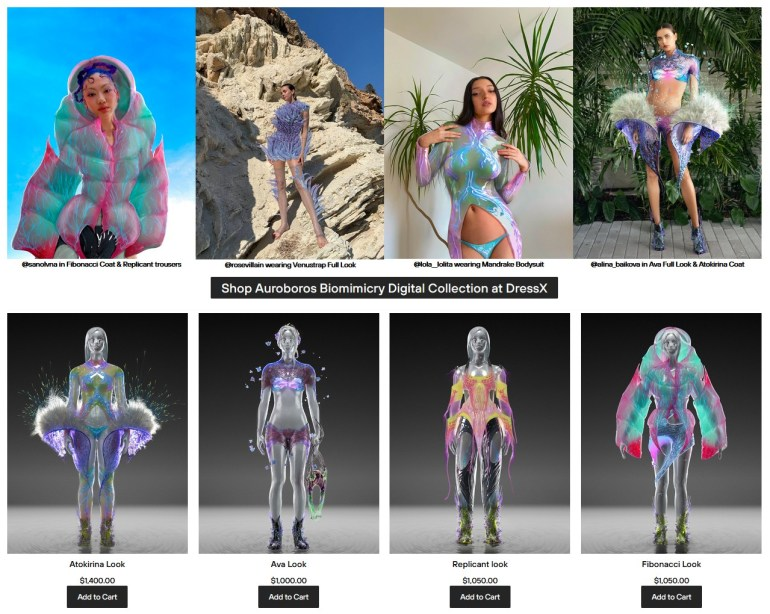 Основанный украинками в США магазин цифровой одежды DressX привлек $2 млн инвестиций [видео]