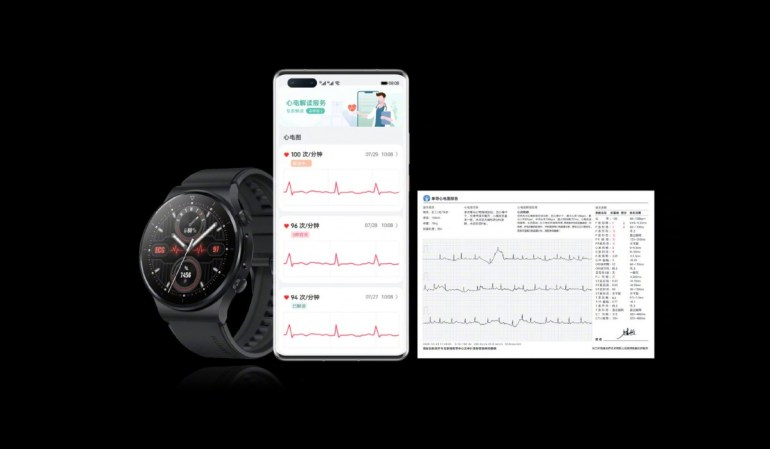 Huawei анонсировала выпуск Watch GT 2 Pro ECG и Band 6 Pro