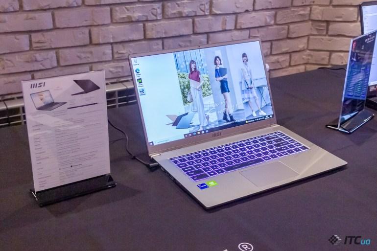 Компания MSI представила в Украине несколько новых ноутбуков