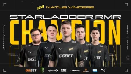 NAVI стали чемпионами Starladder CIS RMR 2021 по CS:GO, обыграв в гранд-финале Gambit Esports со счётом 3:2