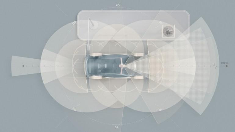 Электромобиль Volvo XC90 получит ряд датчиков (включая LIDAR), ИИ-компьютер на базе NVIDIA DRIVE Orin и резервные системы управления /торможения