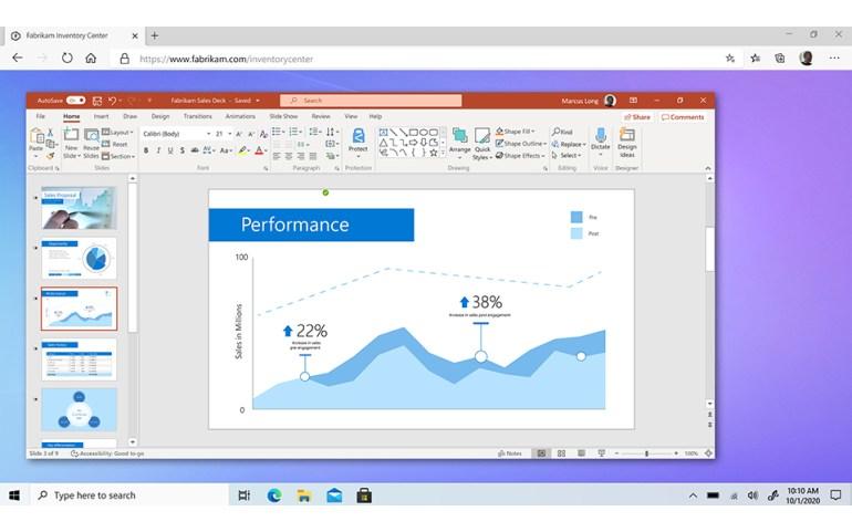 Microsoft анонсировала облачную ОС Windows 365