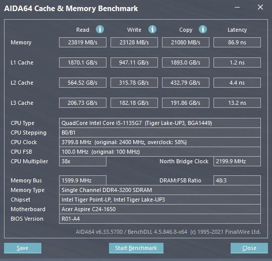 Обзор моноблока Acer Aspire C24-1650