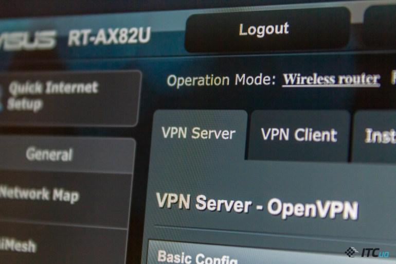 VPN в роутерах ASUS