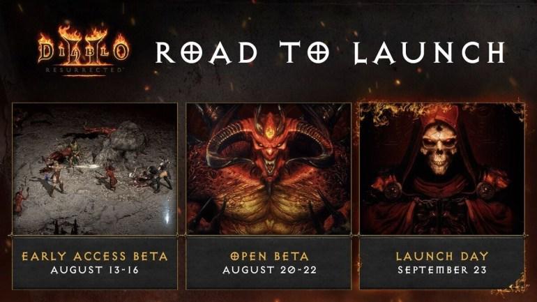Diablo II: Resurrected — подробности и расписание открытого бета-тестирования