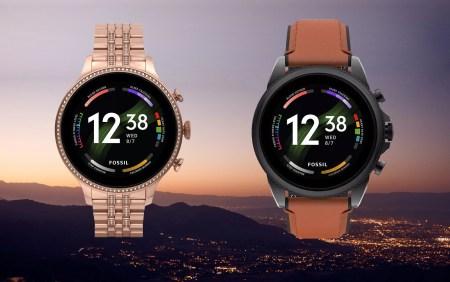 Утекли данные о новых смарт-часах Fossil Gen 6, которые получат чипсет Snapdragon Wear 4100+