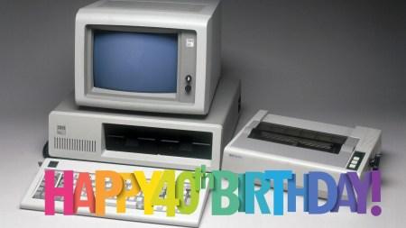 Персональному компьютеру — 40 лет!