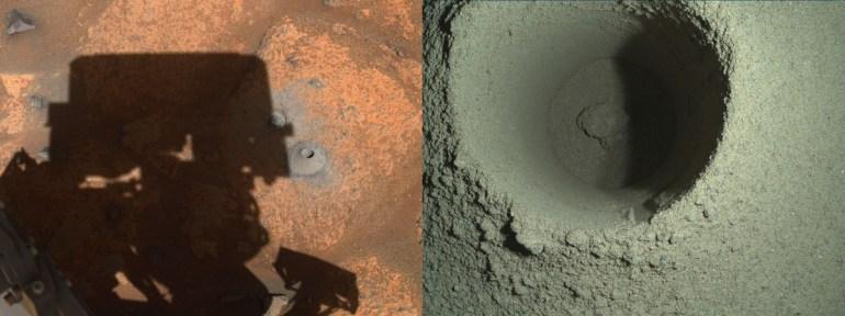 В NASA пояснили, почему не удалась первая миссия Perseverance по сбору образцов марсианской породы
