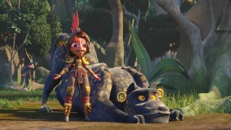 Netflix снял мультсериал «Maya and the Three» / «Майя и три воина» на основе древнеамериканских мифов [трейлер]
