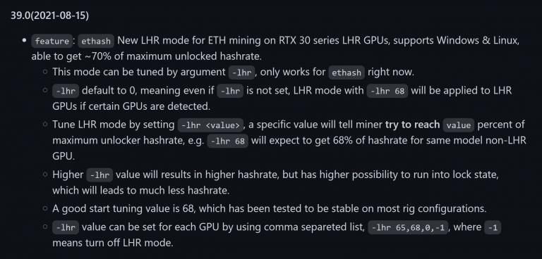 Майнеры наносят ответный удар: Обновление NBMiner разблокирует до 70% майнинг-эффективности видеокарт NVIDIA RTX 30 LHR