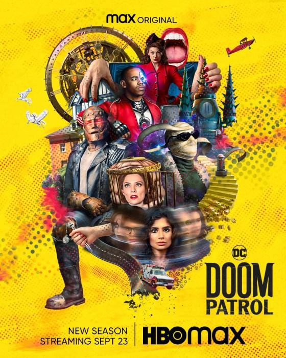Вышел полноценный трейлер третьего сезона супергеройского сериала Doom Patrol / «Роковой патруль» от HBO Max